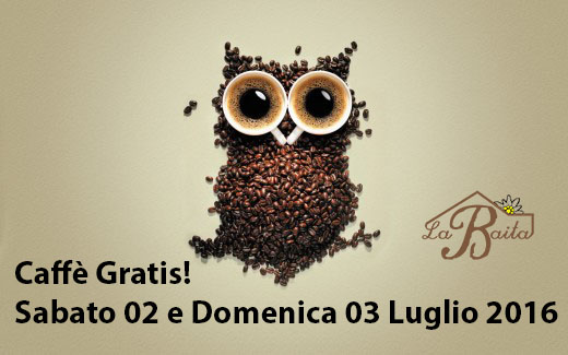 caffè gratis